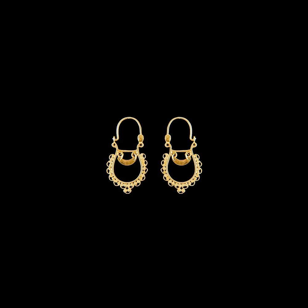"Hoops Earrings ""Filigree Laces"""
