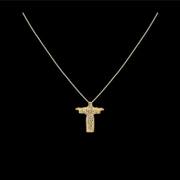 "Necklace ""Jesus Christ""."