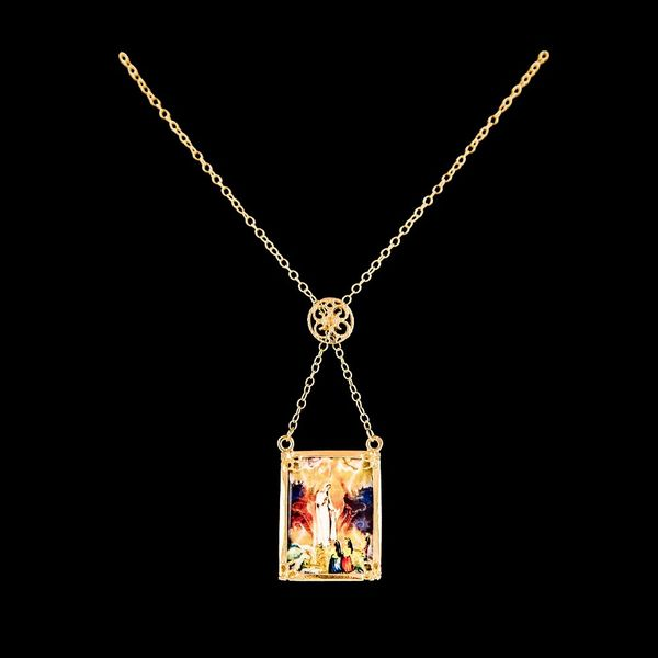 Necklace Scapular Lady of Fatima
