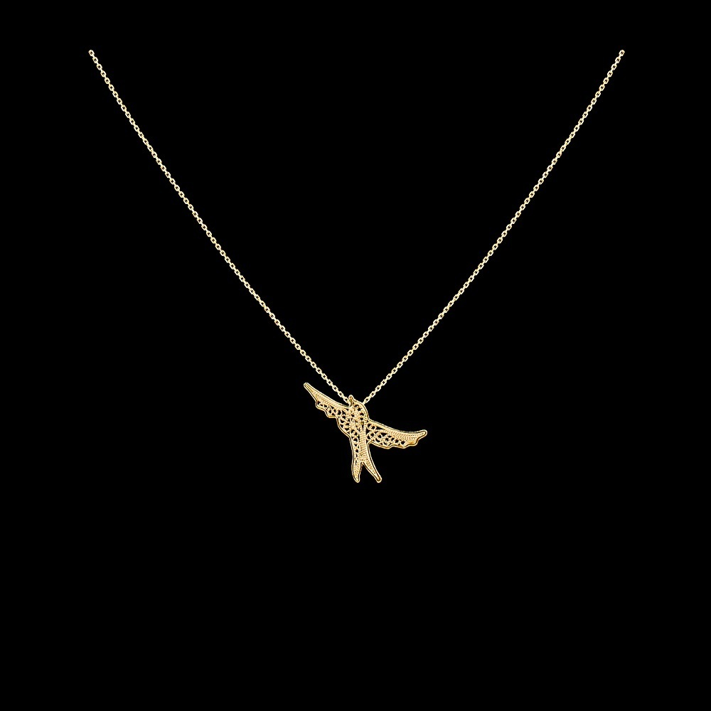 "Necklace ""Swallow""."