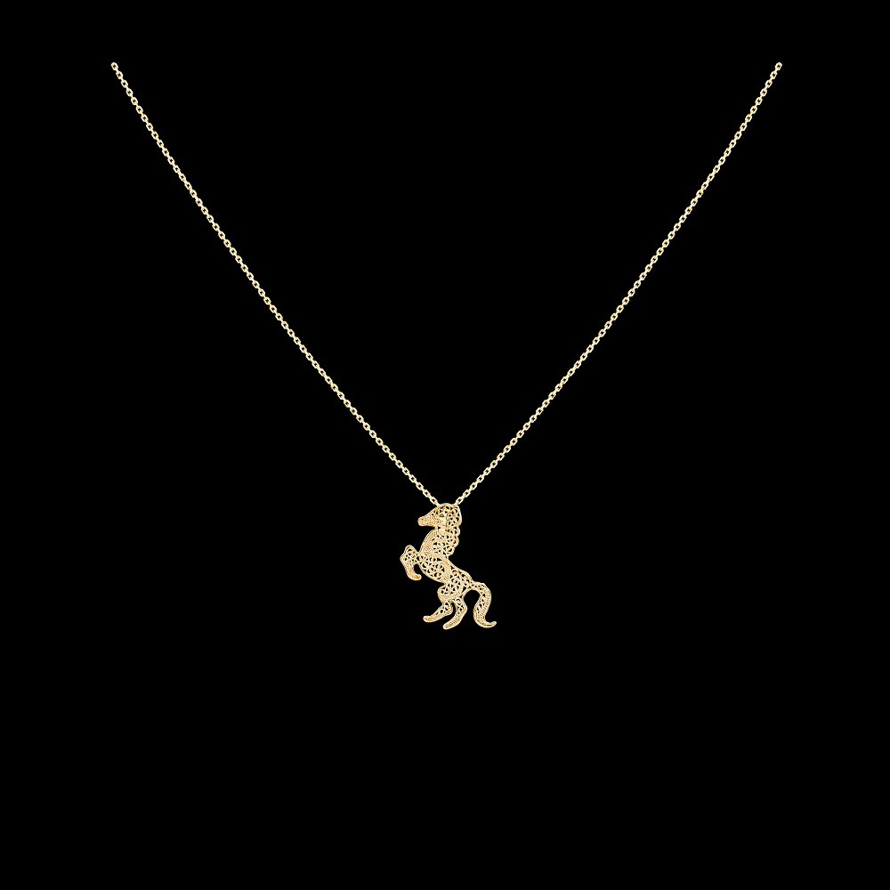 "Necklace ""Horse""."