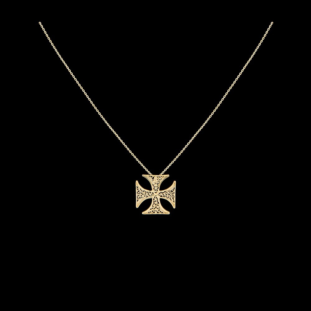 "Necklace ""Cross of Malta""."