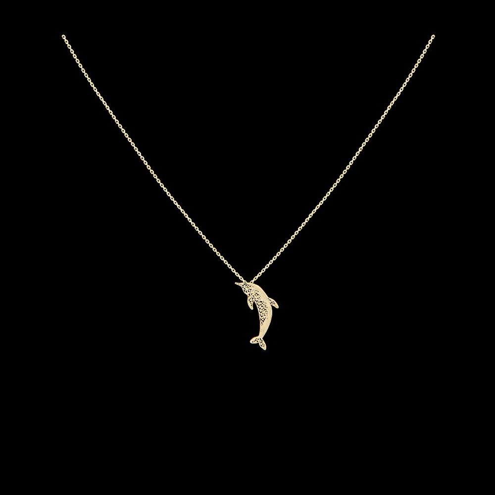 "Necklace ""Dolphin"" ."