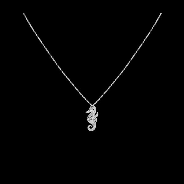"Necklace ""Sea Horse""."
