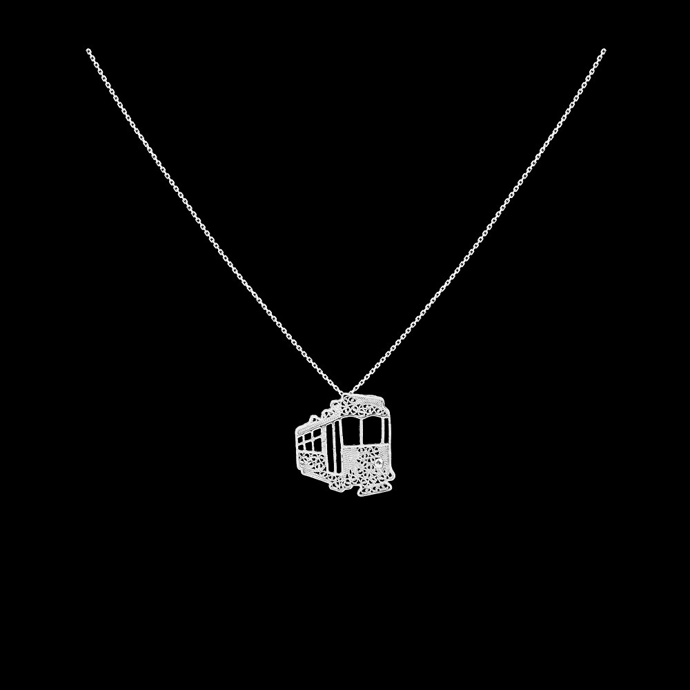 "Necklace ""Eletric train""."