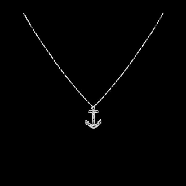 "Necklace ""Anchor""."