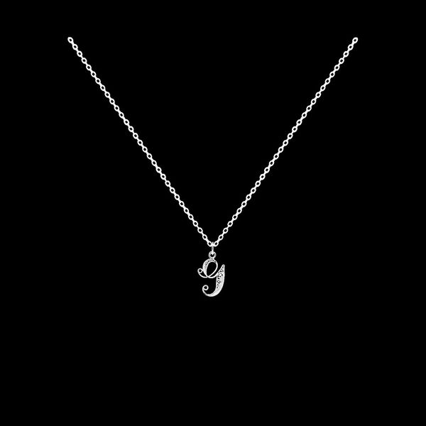 Necklace Letter G silver