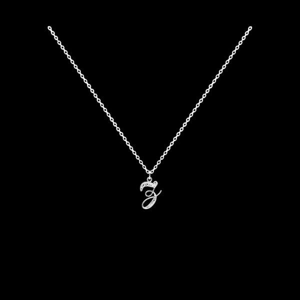 Necklace Letter Z silver