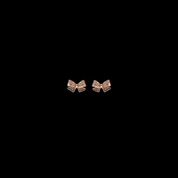 "Earrings ""Bow""."