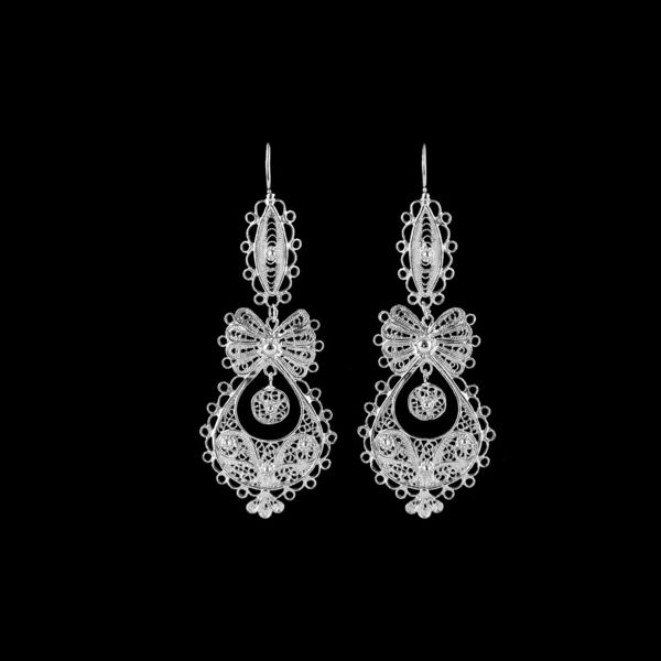 "Earrings ""To Princess"" with 5,5 cm."