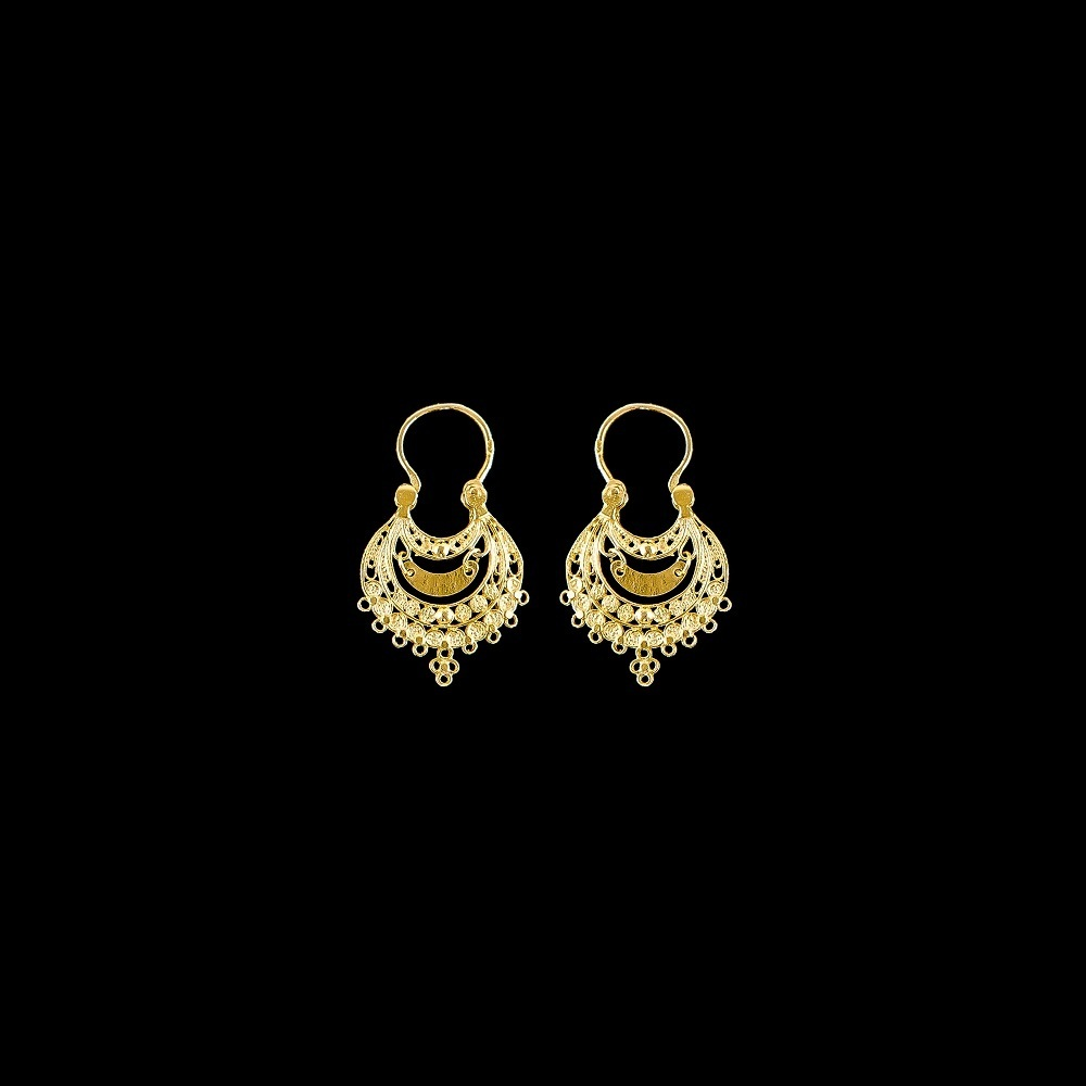 "Earrings ""Arrecadas of Viana"" with 2 cm."