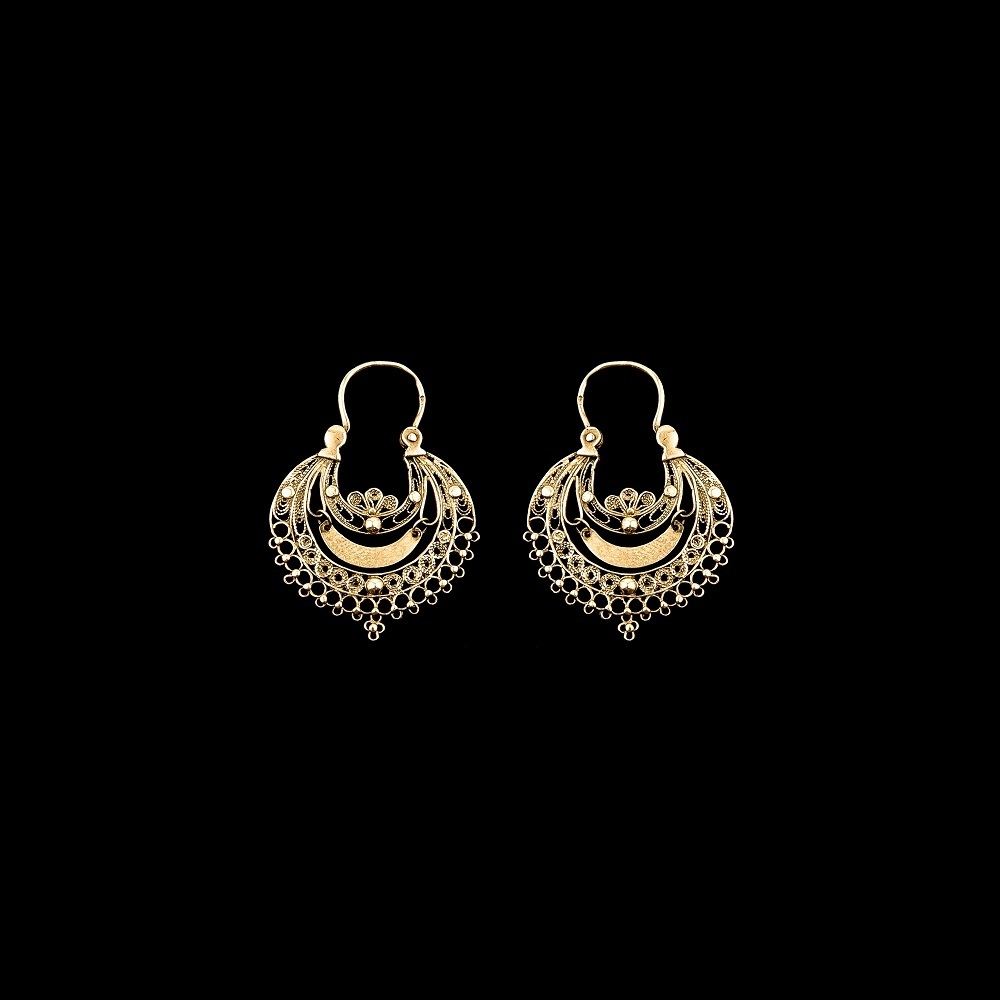 "Earrings ""Arrecadas of Viana"" with 3,5 cm."