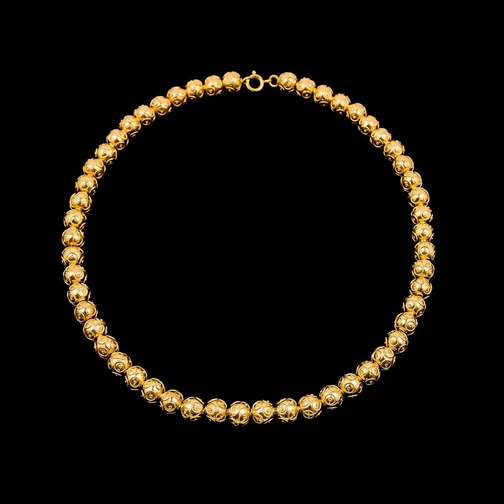 "Necklace ""Beads of Viana"" with 8 mm."
