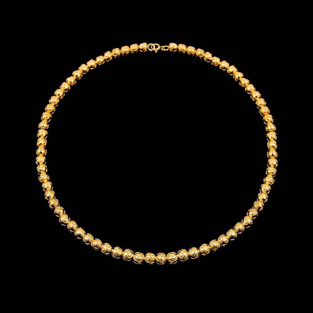 "Necklace ""Beads of Viana"" with 6 mm."
