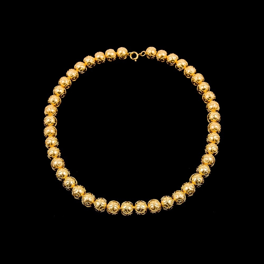 "Necklace ""Beads of Viana"" with 10 mm."