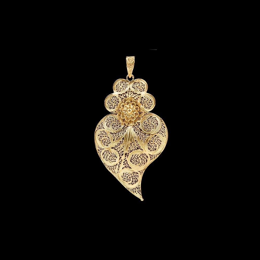 "Medal ""Viana's Heart"" with 6 cm.Premium Collection"