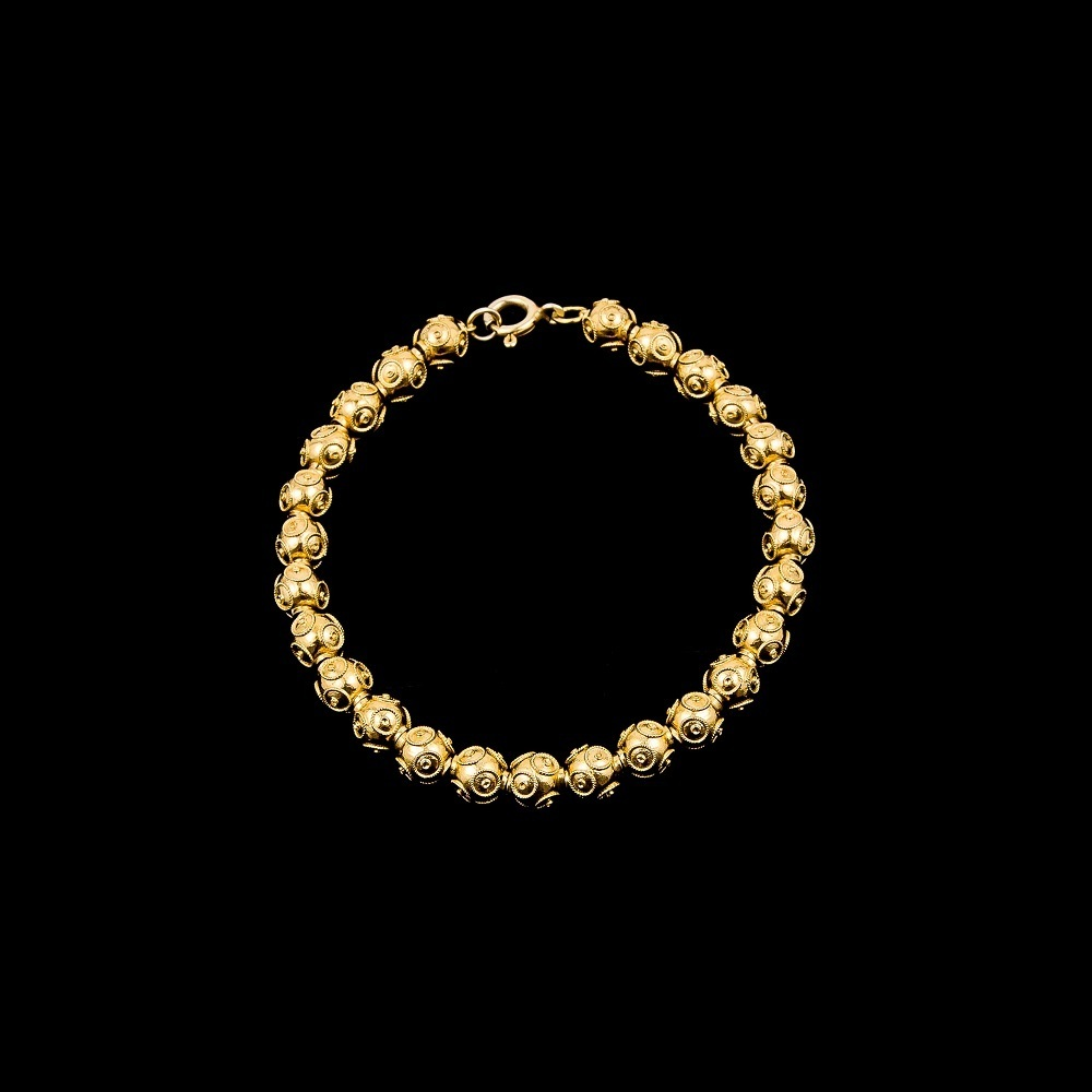 "Bracelete ""Beads of Viana"" with 6 mm."