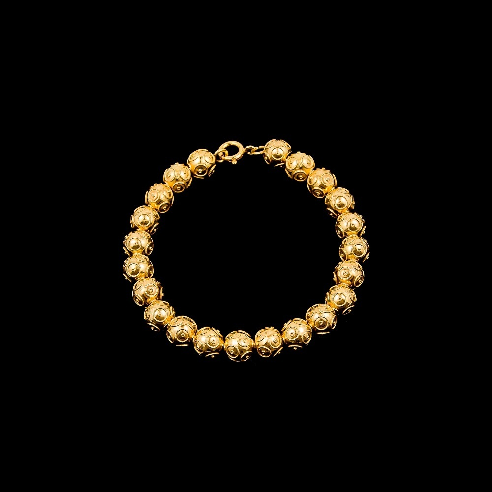 "Bracelete ""Beads of Viana"" with 8 mm."