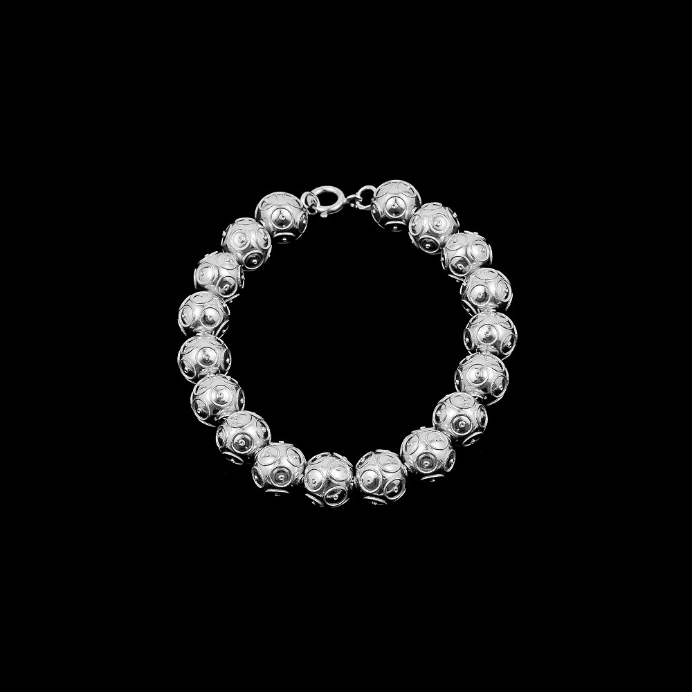 "Bracelet ""Beads of Viana"" with 10 mm."