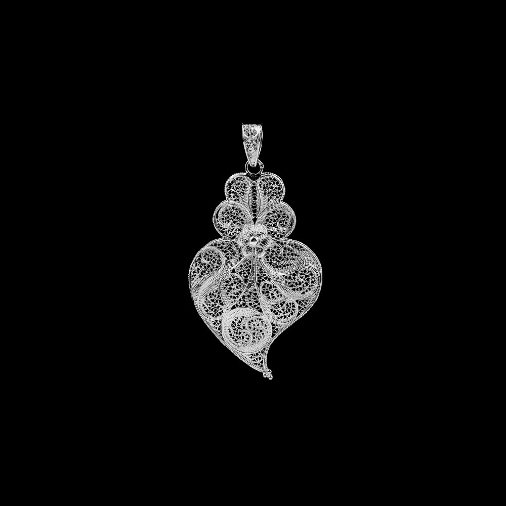 Medal Viana Heart with 6 cm.