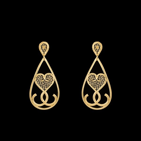 "Earrings ""ADN""."