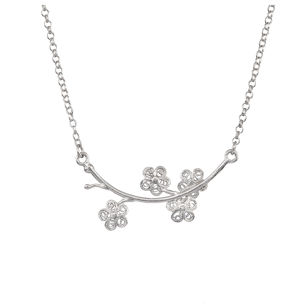 "Necklace ""Spring""."
